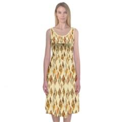 Shell We Dance? Midi Sleeveless Dress
