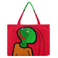 Looking Up Medium Zipper Tote Bag by Valentinaart