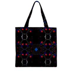 Sssssssju (2)iib Zipper Grocery Tote Bag by MRTACPANS