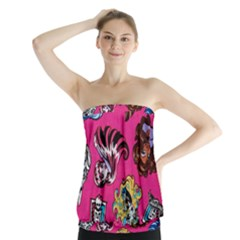 Large 1 Strapless Top by AnjaniArt