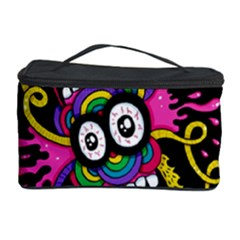 Monster Face Mask Patten Cartoons Cosmetic Storage Case