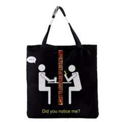 Pict Man Grocery Tote Bag