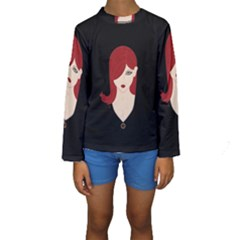 Picture Female Kids  Long Sleeve Swimwear by AnjaniArt
