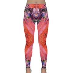Boho Bohemian Hippie Retro Tie Dye Summer Flower Garden Design Yoga Leggings