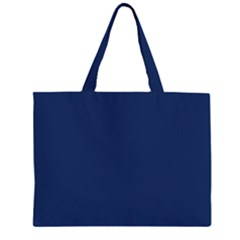 Midnight Blue Colour Large Tote Bag by artpics