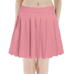 Mauvelous Colour Pleated Mini Skirt by artpics