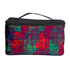 Decorative Abstract Art Cosmetic Storage Case by Valentinaart