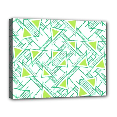 Ethnic Geo Pattern Canvas 14  X 11  by dflcprints