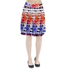 Colorful Big Bang Pleated Skirt by Valentinaart