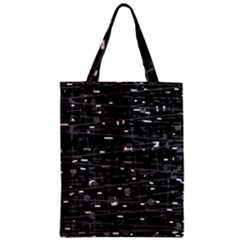 Simple Gray Zipper Classic Tote Bag by Valentinaart