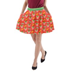 Minnie Peppermint A-Line Pocket Skirt by parkbound