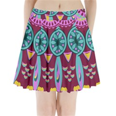 Owl Pleated Mini Skirt by olgart