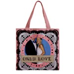 wedding - Zipper Grocery Tote Bag