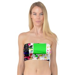 Colorful Facroty Bandeau Top by Valentinaart