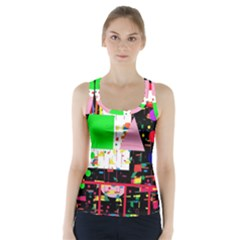 Colorful Facroty Racer Back Sports Top by Valentinaart