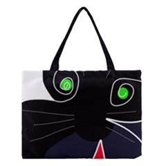 Big Cat Medium Tote Bag