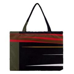 Colorful Lines  Medium Tote Bag