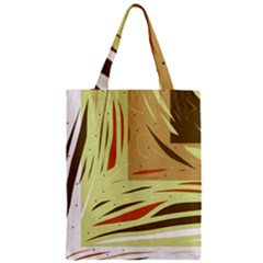 Brown Decorative Design Classic Tote Bag by Valentinaart