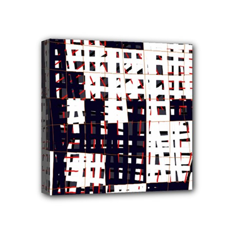 Abstract City Landscape Mini Canvas 4  X 4  by Valentinaart