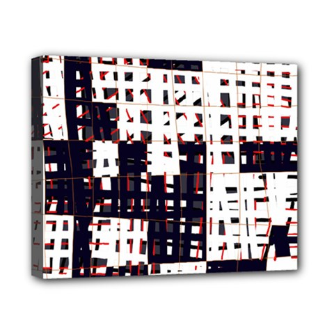 Abstract City Landscape Canvas 10  X 8  by Valentinaart