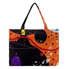 Orange Dream Medium Tote Bag by Valentinaart