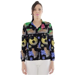 Colorful Puzzle Wind Breaker (women)