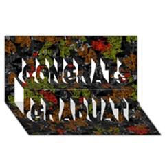 Autumn Colors  Congrats Graduate 3d Greeting Card (8x4)