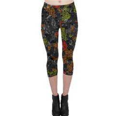 Autumn Colors  Capri Leggings  by Valentinaart