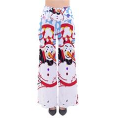 Snowman Pants by Valentinaart