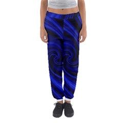 Blue Decorative Twist Women s Jogger Sweatpants by Valentinaart