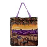 Lavender Grocery Tote Bag