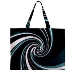 Elegant Twist Zipper Mini Tote Bag by Valentinaart