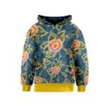 Floral Fantsy Pattern Kids  Pullover Hoodie