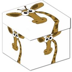 Giraffe  Storage Stool 12   by Valentinaart