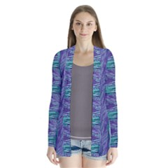 Energy Drape Collar Cardigan by olgart