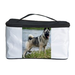 Norwegian Elkhound Full Cosmetic Storage Case by TailWags