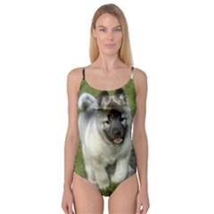 Norwegian Elkhound Puppy Camisole Leotard