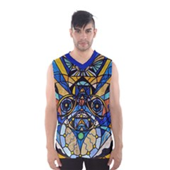 Sirian Solar Invocation Seal - Men s Basketball Tank Top by tealswan