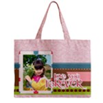 kids - Zipper Medium Tote Bag