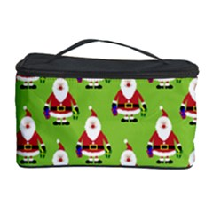 Christmas Santa Santa Claus Cosmetic Storage Case by Zeze