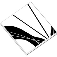 White And Black  Small Memo Pads