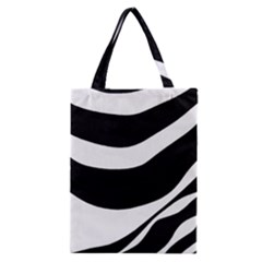 White Or Black Classic Tote Bag by Valentinaart