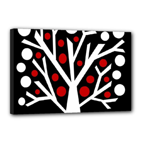 Simply Decorative Tree Canvas 18  X 12  by Valentinaart