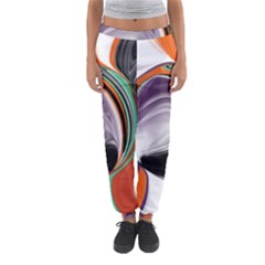 Abstract Orb Women s Jogger Sweatpants by theunrulyartist