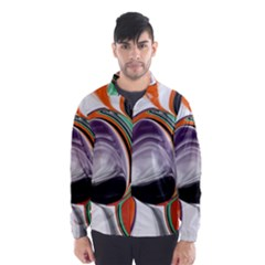 Abstract Orb Wind Breaker (men) by theunrulyartist