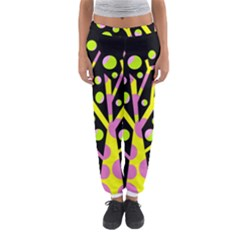 Simple Colorful Tree Women s Jogger Sweatpants by Valentinaart