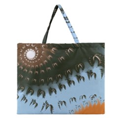 Sunraypil Zipper Large Tote Bag