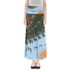 Sunraypil Maxi Skirts