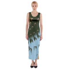 Sunraypil Fitted Maxi Dress by theunrulyartist