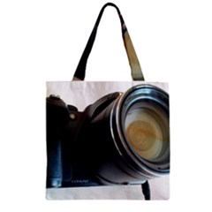 My Camera Zipper Grocery Tote Bag by picsaspassion